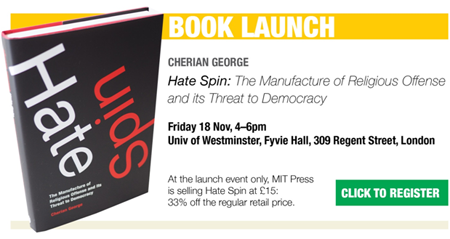 George's Hate spin to be released globally