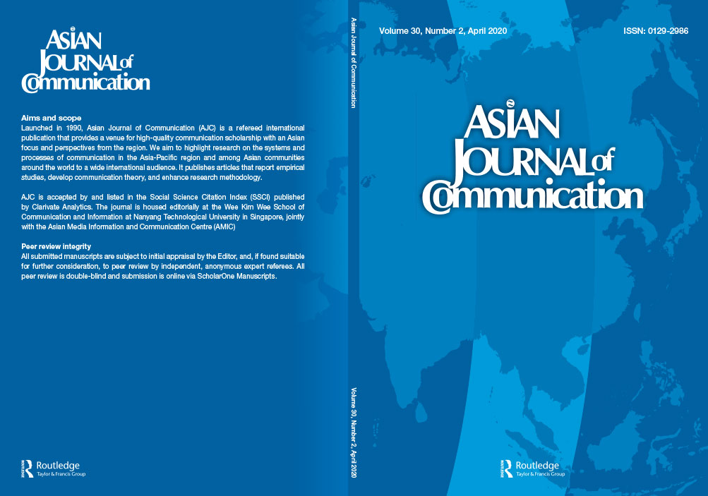 Asian Journal of Communication Volume 30. Issue No. 2