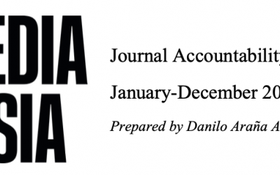Media Asia Journal Accountability Report (January-December 2020)