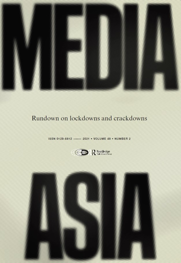 Media Asia 48 (2) cover